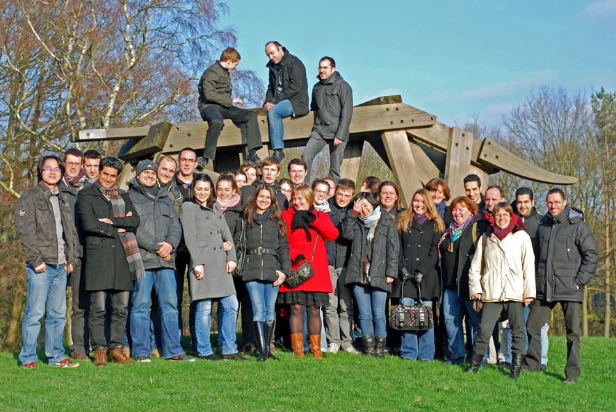 2013 group in Sart-Tilman